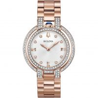 Damen Bulova Rubaiyat Watch 98R250