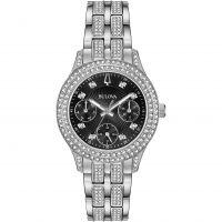 Damen Bulova Crystal Watch 96N110