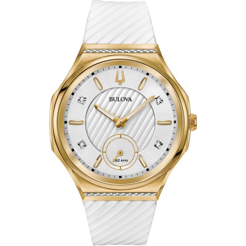 Ladies Bulova Curv Diamond Watch