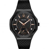 femme Bulova Curv Diamond Watch 98R240