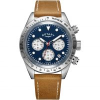 Herren Rotary Exclusive Vintage Chronograph Watch GS00600/05