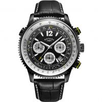 homme Rotary Exclusive Pilot Chronograph Watch GS00649/19