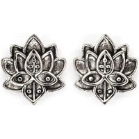 Chrysalis Bodhi Lotus Flower Earrings JEWEL