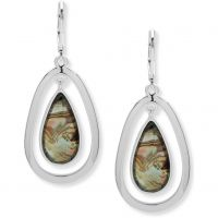 Ladies Anne Klein Silver Plated Aventura Earrings
