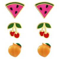 Juicy Couture Fruit Earrings Stud Set 39WJW119176-712