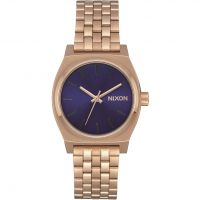 Unisex Nixon The Medium Time Teller Watch A1130-2763