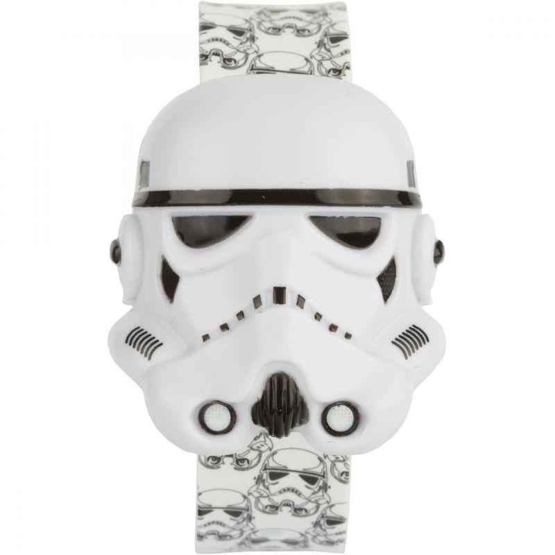 Kinder Character Star Wars Stormtrooper Digital Flip Top Slap Watch STAR427