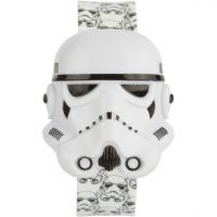 Character Star Wars Stormtrooper Digital Flip Top Slap Kinderenhorloge Wit STAR427