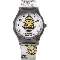 Kinder Character Despicable Me 3 Breakout Stripe Style Watch MNS133