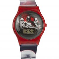 Character Star Wars Trooper LCD Kinderenhorloge Rood STAR575