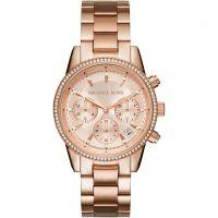 femme Michael Kors Ritz Chronograph Watch MK6357