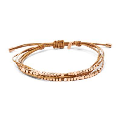 Ladies Fossil Gold Plated Bracelet JA6422791