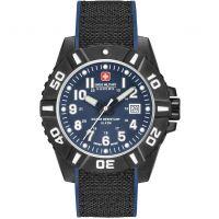 Herren Swiss Military Hanowa Black Carbon Watch 06-4309.17.003