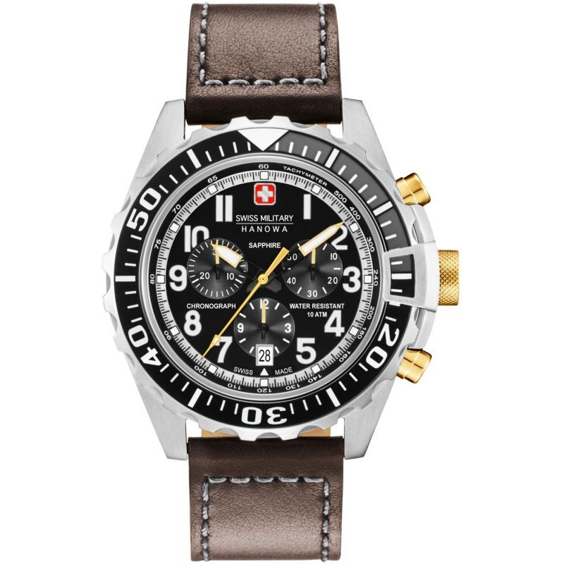 Mens Swiss Military Hanowa Touchdown Chrono Chronograph Watch