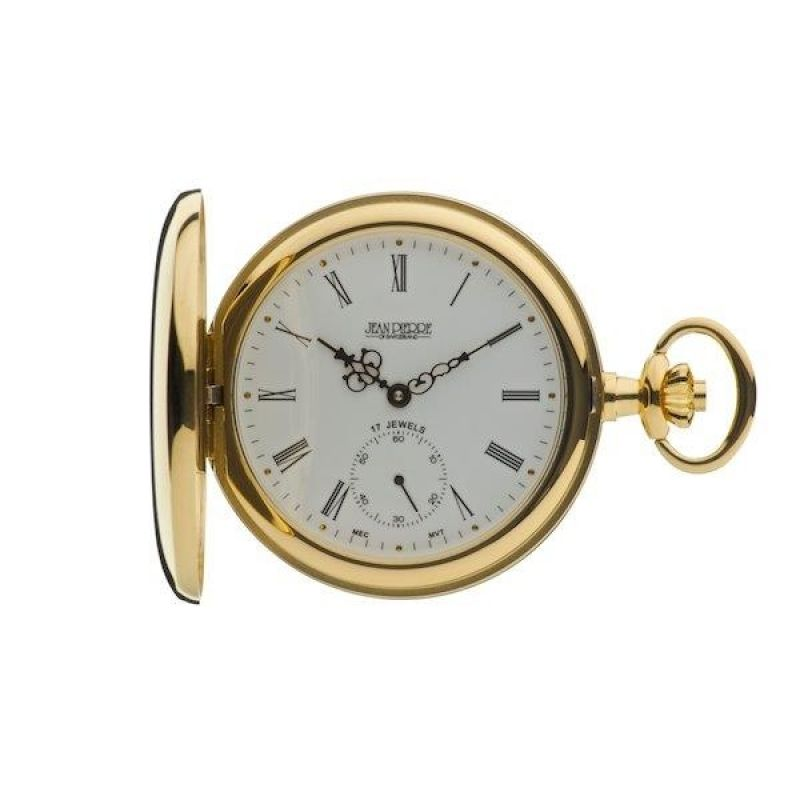 Jean Pierre Hunter Pocket Mechanical Watch