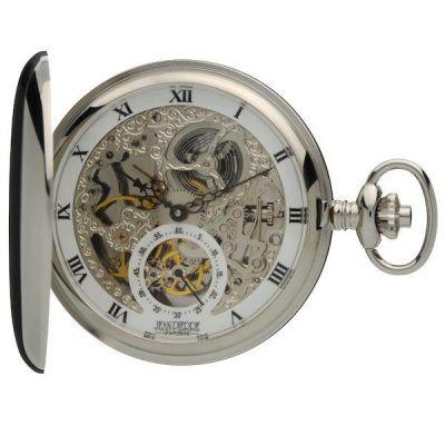 Jean Pierre Double Hunter Pocket Mechanical Watch JP-G250CM