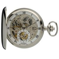 Jean Pierre Double Hunter Pocket Zakhorloge Zilver JP-G250CM