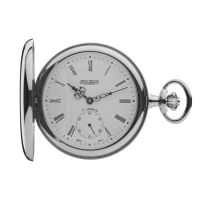 Jean Pierre Hunter Pocket Zakhorloge Zilver JP-G102CM