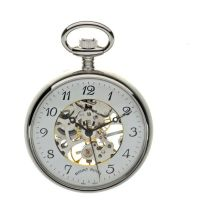 poche Mount Royal Open Face Pocket Watch MR-B3C/AF