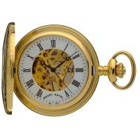 Mount Royal Half Hunter Pocket Zakhorloge Goud MR-B6