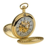 Mount Royal Double Hunter Pocket Zakhorloge Goud MR-B21
