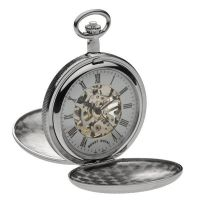 Taschenuhr Mount Royal Double Hunter Pocket Watch MR-B22