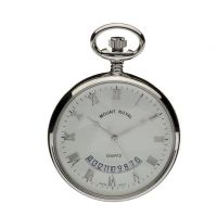 poche Mount Royal Open Face Quartz Pocket Watch MR-B30C