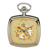 Mount Royal Open Face Pocket Zakhorloge Zilver MR-B43