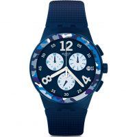 Unisex Swatch Camoblu Chronograf Uhren
