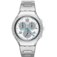 Herren Swatch Pure Attack Chronograph Watch YYS4024AG