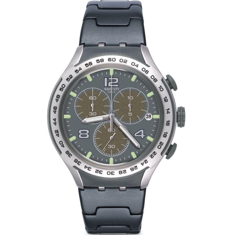 Unisex Swatch Shark Attack Chronograph Watch