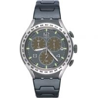 Unisex Swatch Shark Attack Chronograph Watch YYS4027AG