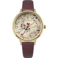 Ladies Cath Kidston Trailing Rose Watch
