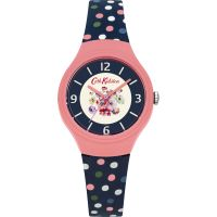femme Cath Kidston Mallory Bunch Scattered Spot Watch CKL027UP