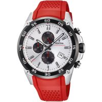 Festina Originals - The Tour Of Britain 2017 Herenchronograaf Rood F20330/1