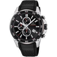 Festina Originals - The Tour Of Britain 2017 Herenchronograaf Zwart F20330/5