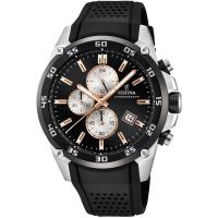 Festina Originals - The Tour Of Britain 2017 Herenchronograaf Zwart F20330/6