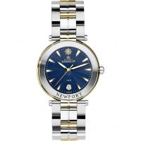 Damen Michel Herbelin Newport Watch 12285/BT35