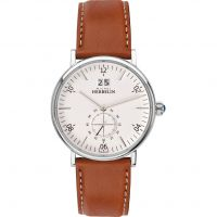 Herren Michel Herbelin Montmartre Watch 18247/11GO