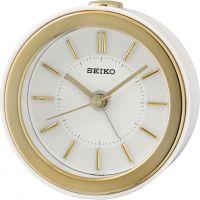 horloge Seiko Clocks Bedside Alarm Clock QHE156W