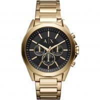 Armani Exchange Herenhorloge Goud AX2611