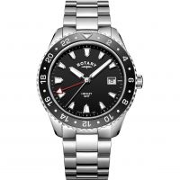 Herren Rotary Henley GMT Uhren