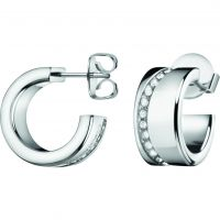 Ladies Calvin Klein Stainless Steel Hook Earrings