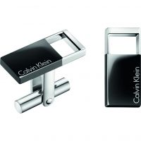 Mens Calvin Klein Stainless Steel Hollow Cufflinks KJ7RBC200100