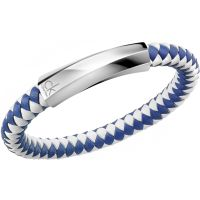 homme Calvin Klein Jewellery Bewilder Leather Bracelet Watch KJ2BLB09020M