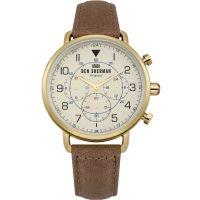 Herren Ben Sherman Portobello Military Chronograph Watch WB068WT