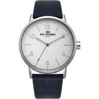 Herren Ben Sherman Biig Portobello Herringbone Watch WB070UB