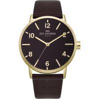 Herren Ben Sherman Biig Portobello Herringbone Watch WB070RB