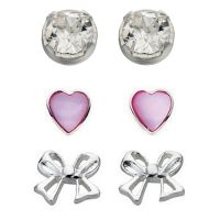 femme Beginnings Stud Earring Set Watch WS-SET5