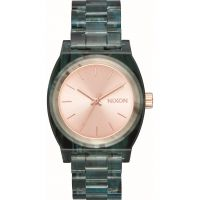 Unisex Nixon The Medium Time Teller Acetate x Mazzucchelli Watch A1214-2930